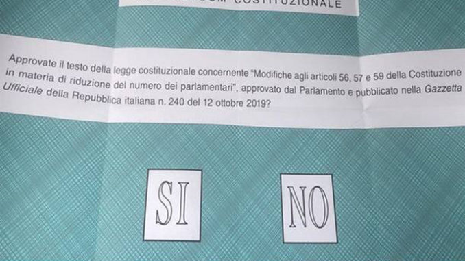 """Referendum costituzionale: vittoria del """"sì"""" che supera il 71% con 171.359 voti degli elettori nella provincia Granda"""