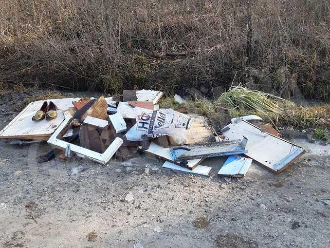 sanfre rifiuti abbandonati