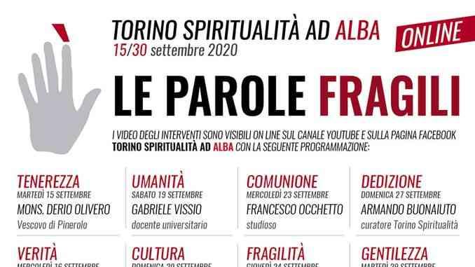 Torino Spiritualità sarà online dal 15 al 30 settembre (video)