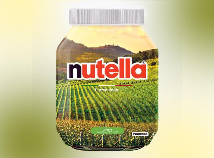 Ferrero aiuta il turismo, l'Italia sui vasetti della Nutella