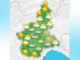 Previsione meteo Piemonte domenica 18 ottobre