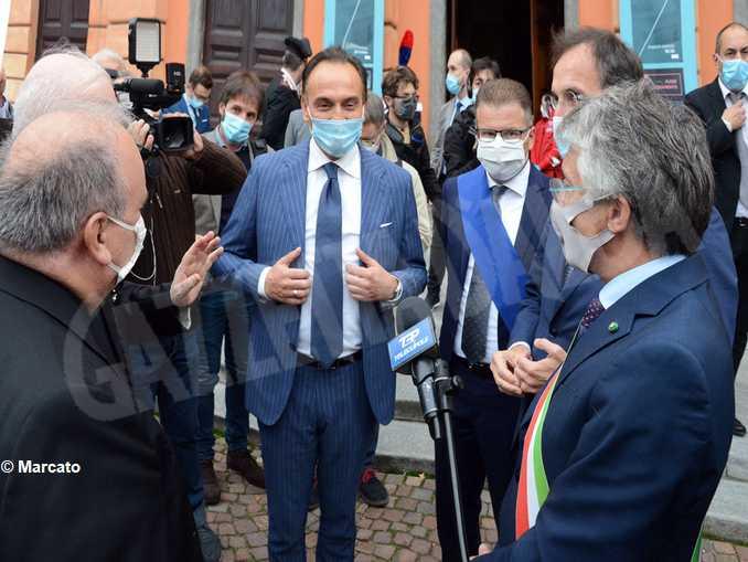 Alberto Cirio inaugurazione Fiera 2020