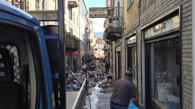 Il Presidente della Regione Piemonte in sopralluogo in alcune delle aree colpite dall'alluvione