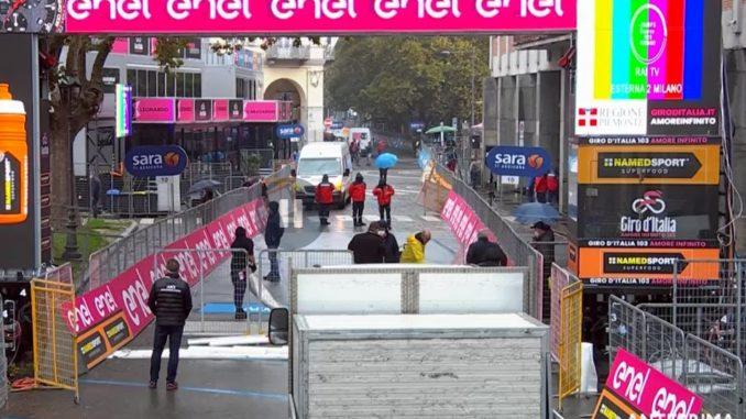 Giro d'Italila, Asti attende l'arrivo. Tappa accorciata per freddo e pioggia