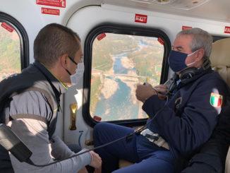Alluvione: concluso il sopralluogo in Piemonte del capo della Protezione Civile Borrelli 1