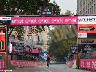 Giro d'Italia: Cerny primo da solo ad Asti. Domani, la partenza da Alba