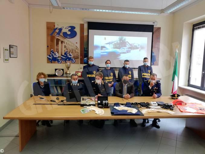 Cuneo polizia furti