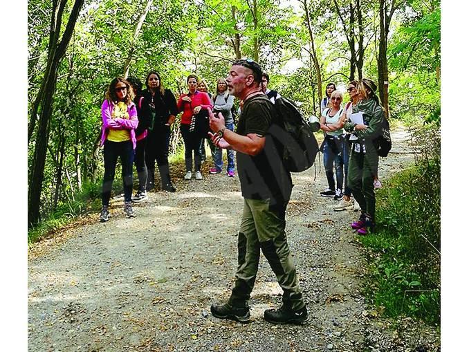 Diano insegnanti nei boschi