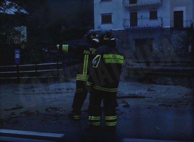 Maltempo: notte impegnativa per la furia del torrente Vermenagna che ha esondato (VIDEO) 1