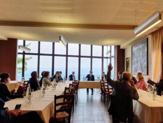 Oggi a Guarene il Ministro Francesco  Boccia ha incontrato amministratori locali, provinciali e regionali del Partito Democratico