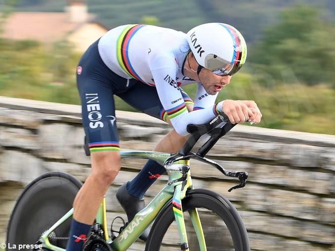 Giro d'Italia: Sobrero undicesimo a cronometro, Almeida consolida il primo posto