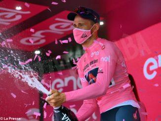 Giro d'Italia: Ganna in maglia rosa. Matteo Sobrero è settimo! 1