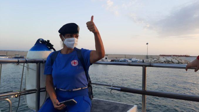 Cri Alba: Ringraziamento all'infermiera volontaria Rosa Carceo