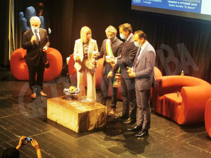 Inaugurazione della novantesima edizione della Fiera internazionale del tartufo bianco d'Alba 18