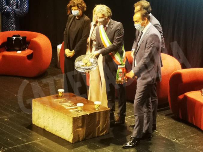 Inaugurazione della novantesima edizione della Fiera internazionale del tartufo bianco d'Alba 19