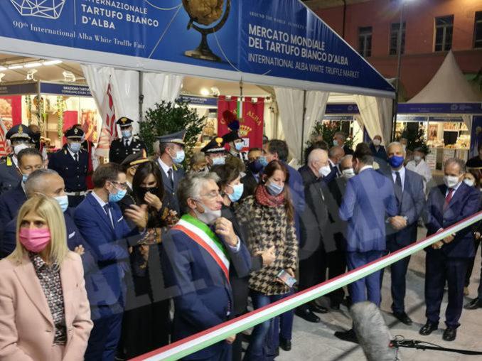 Inaugurazione della novantesima edizione della Fiera internazionale del tartufo bianco d'Alba 20