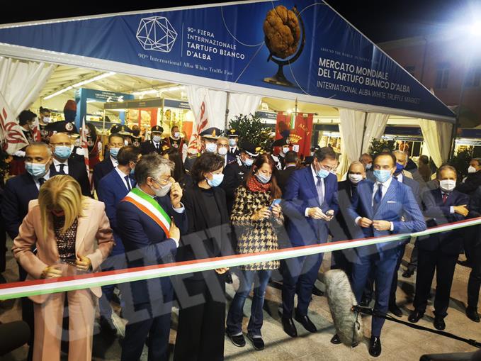 Inaugurazione Fiera internazionale del tartufo bianco d'Alba 2020 (22) (Copy)