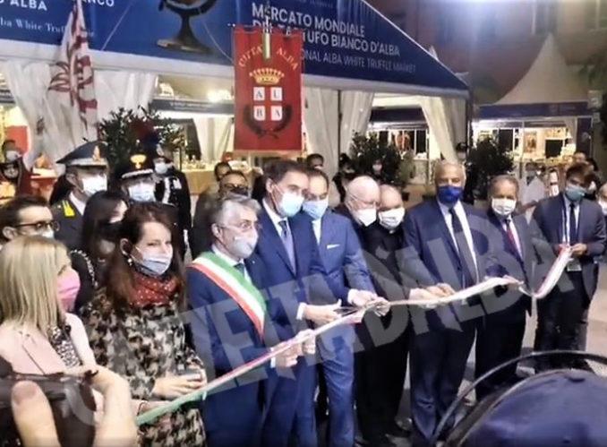 Inaugurazione della novantesima edizione della Fiera internazionale del tartufo bianco d'Alba 23