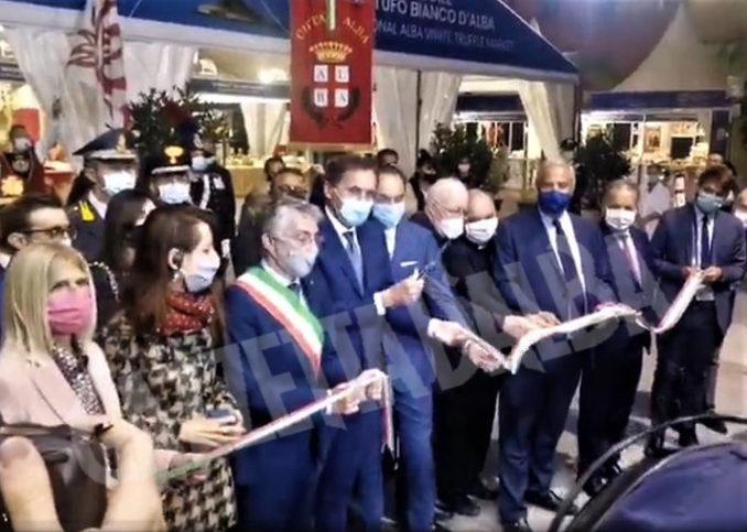 Inaugurazione della novantesima edizione della Fiera internazionale del tartufo bianco d'Alba 24