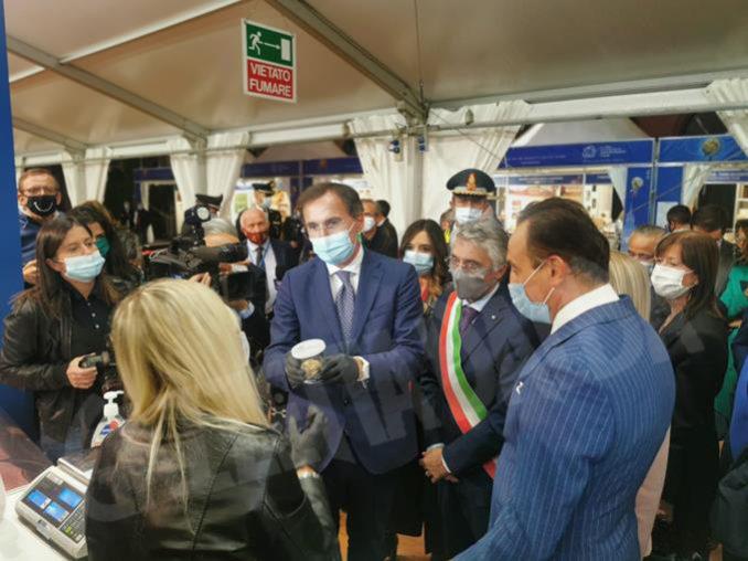 Inaugurazione della novantesima edizione della Fiera internazionale del tartufo bianco d'Alba 25
