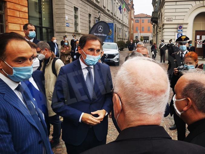 Inaugurazione Fiera internazionale del tartufo bianco d'Alba 2020 – Ministro Francesco Boccia
