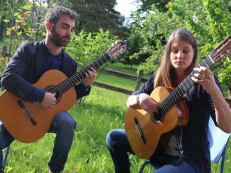 """43ª Stagione di Musica da Camera - """"Agua Y Vino"""" duo chitarristico Masoero - Gramaglia"""