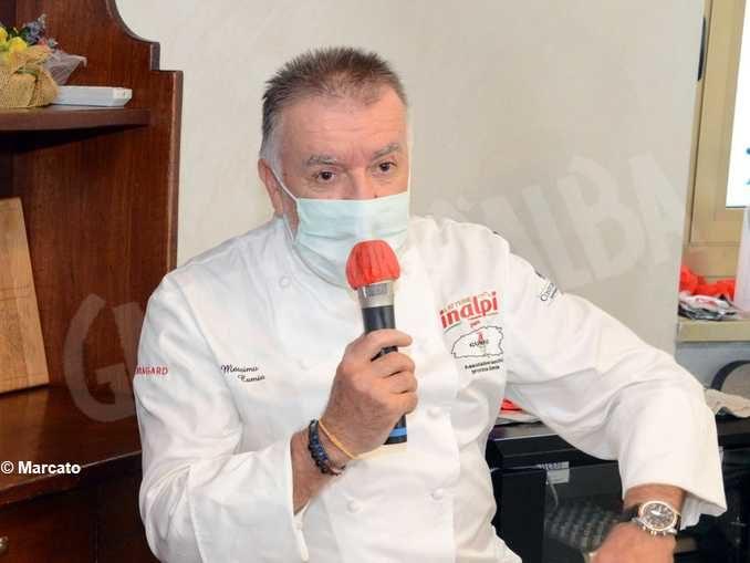 Massimo Camia e la voce degli chef cuneesi
