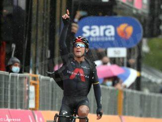 Giro d'Italia: Sobrero cinquantunesimo nella terra di Marco Pantani