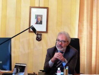 Il nuovo questore Nicola Parisi incontra la stampa e la Guardia di finanza