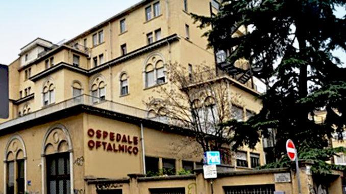 Presentazione delle nuove aree Covid presso l'Ospedale Sperino Oftalmico di Torino