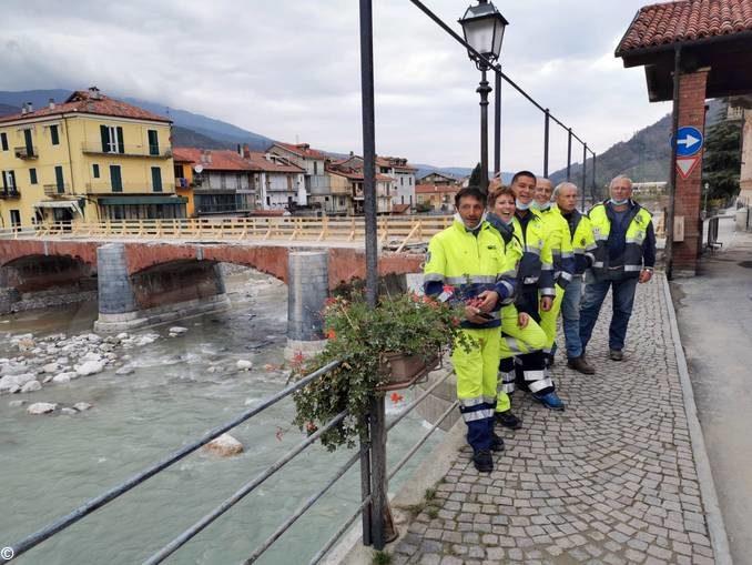 La Protezione civile di Albaretto, Sinio  e Somano è andata in soccorso alle zone alluvionate