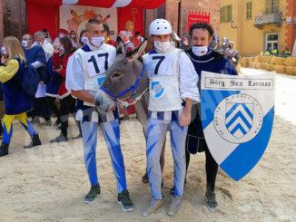 Alba: il Borgo di San Lorenzo vince il Palio degli asini 2020