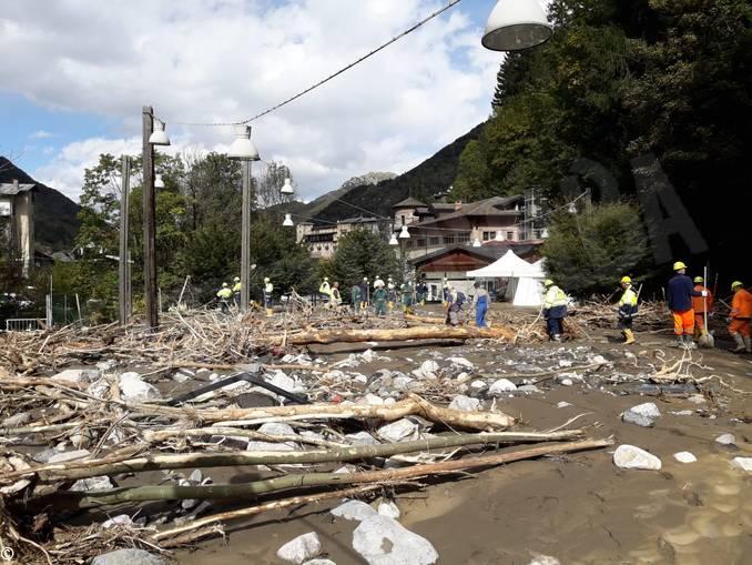 Volontari Dogliani alluvione