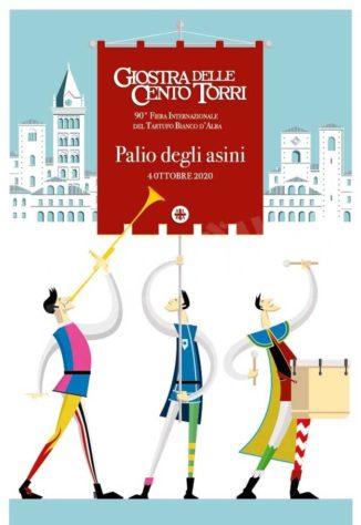 Una serie di cartoline illustrate per il Palio degli asini 2020 4