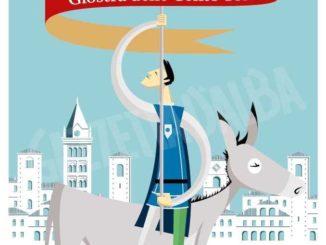 Una serie di cartoline illustrate per il Palio degli asini 2020 3