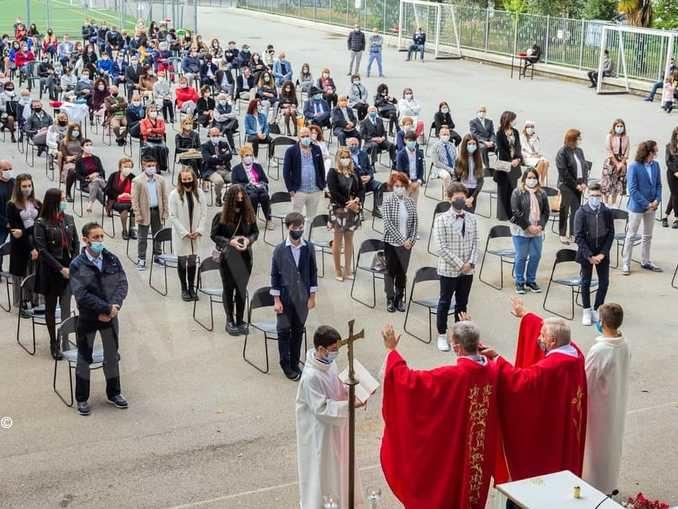 Festa ai Salesiani per 15 ragazzi che hanno ricevuto la cresima 1
