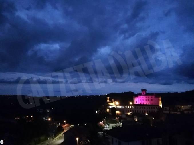 castello barolo rosa