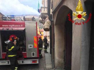 Esplosione per una fuga di gas nel centro di Garessio