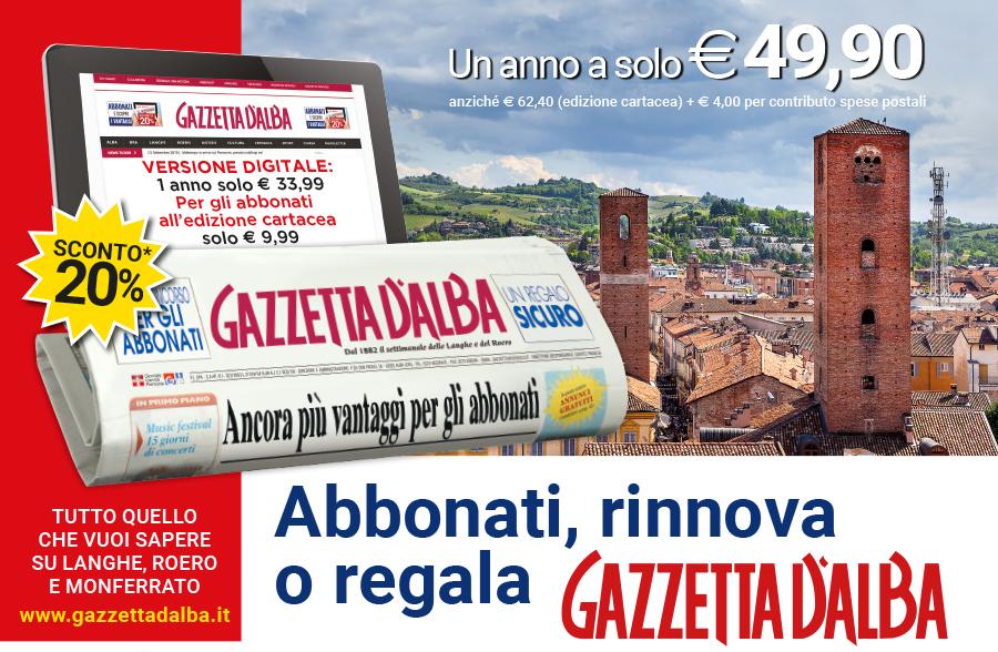 Abbonati a Gazzetta d'Alba 10
