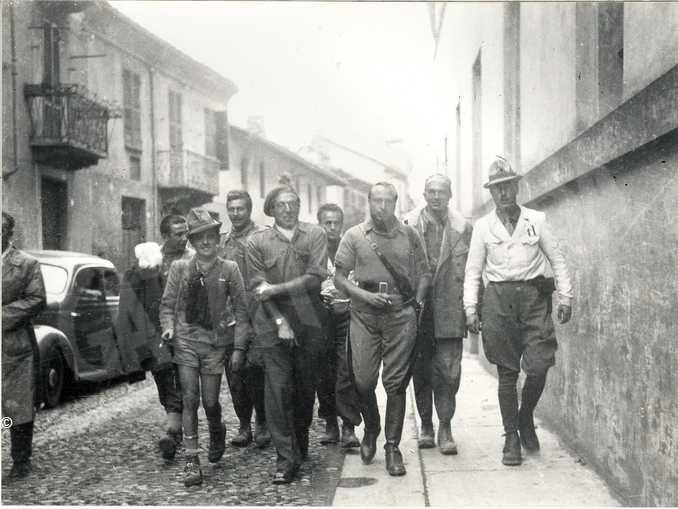 i capi partigiani escono dal Vescovado il 10 ottobre, iniziano i 23 giorni