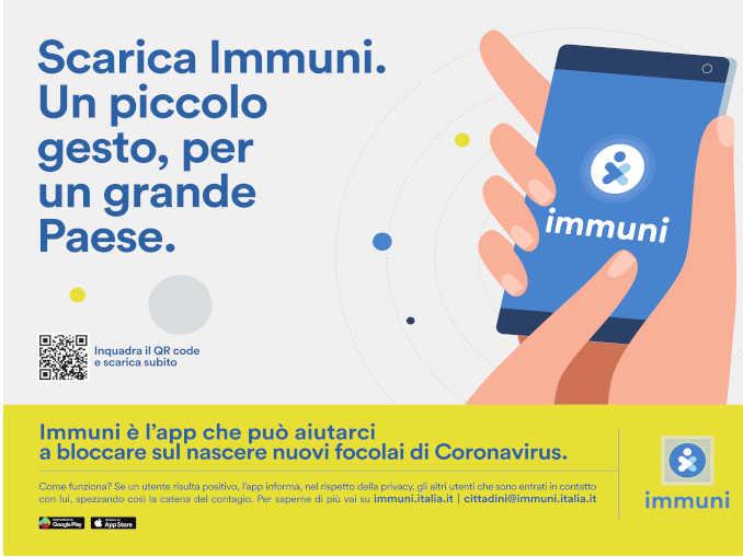 immuni scarica