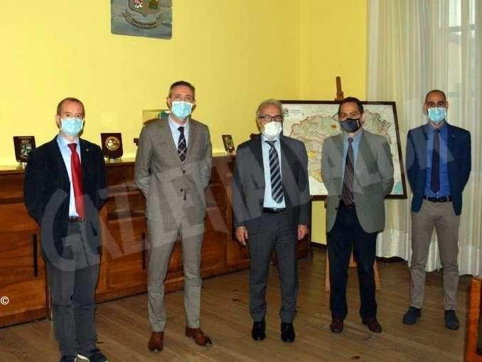 Il nuovo questore Nicola Parisi incontra la stampa e la Guardia di finanza 1