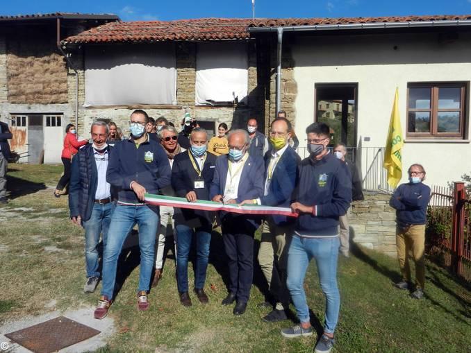 scuola pastorizia paroldo inaugurazione