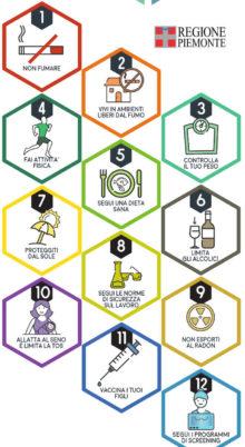 Le 12 regole contro il cancro protagoniste di un fumetto per i ragazzi