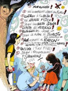 Le 12 regole contro il cancro protagoniste di un fumetto per i ragazzi 2