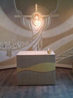 Altare chiesa nuovo ospedale di Verduno
