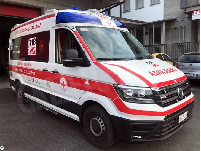 Ambulanza Croce rossa Canelli