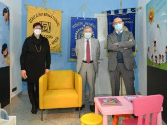 """Inaugurata la """"Stanza della Genitorialità"""" a Palazzo di Giustizia di Asti, grazie al contributo di tre Club di Servizio femminili del nostro territorio"""