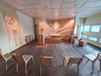 Completata la chiesa del nuovo ospedale di Verduno
