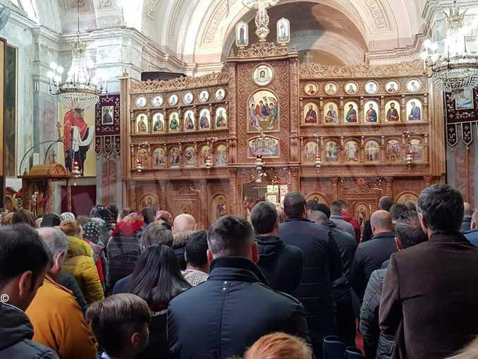 Comunità ortodossa di Bra in una celebrazione